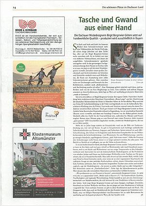 Pressebericht Taschenfuersleben SZ Oktober 2019