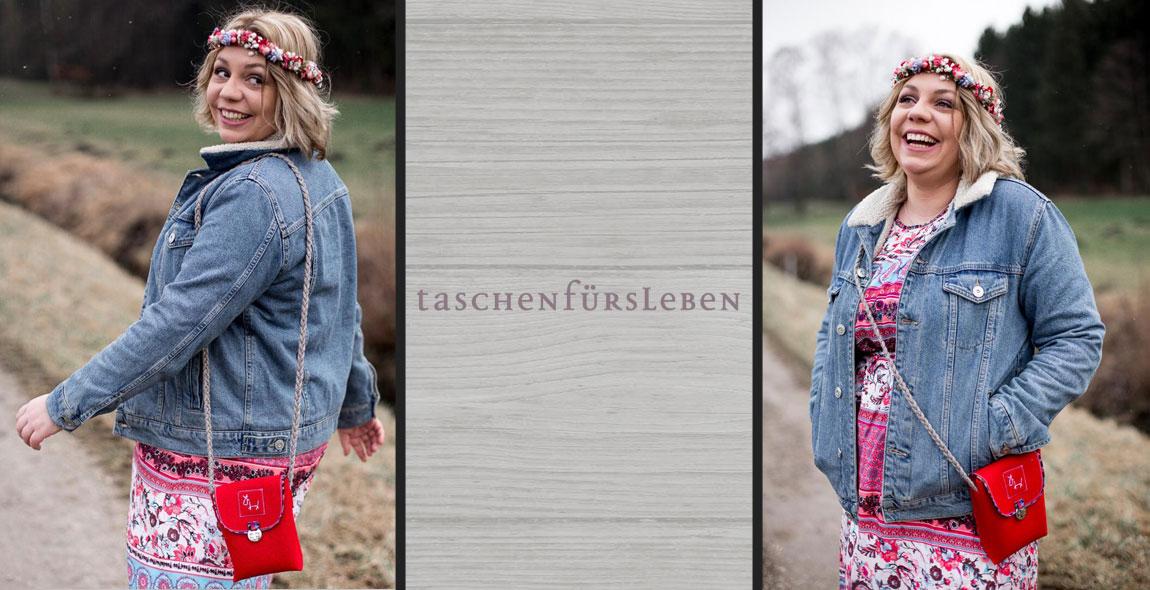 Damen Designertaschen aus Filz