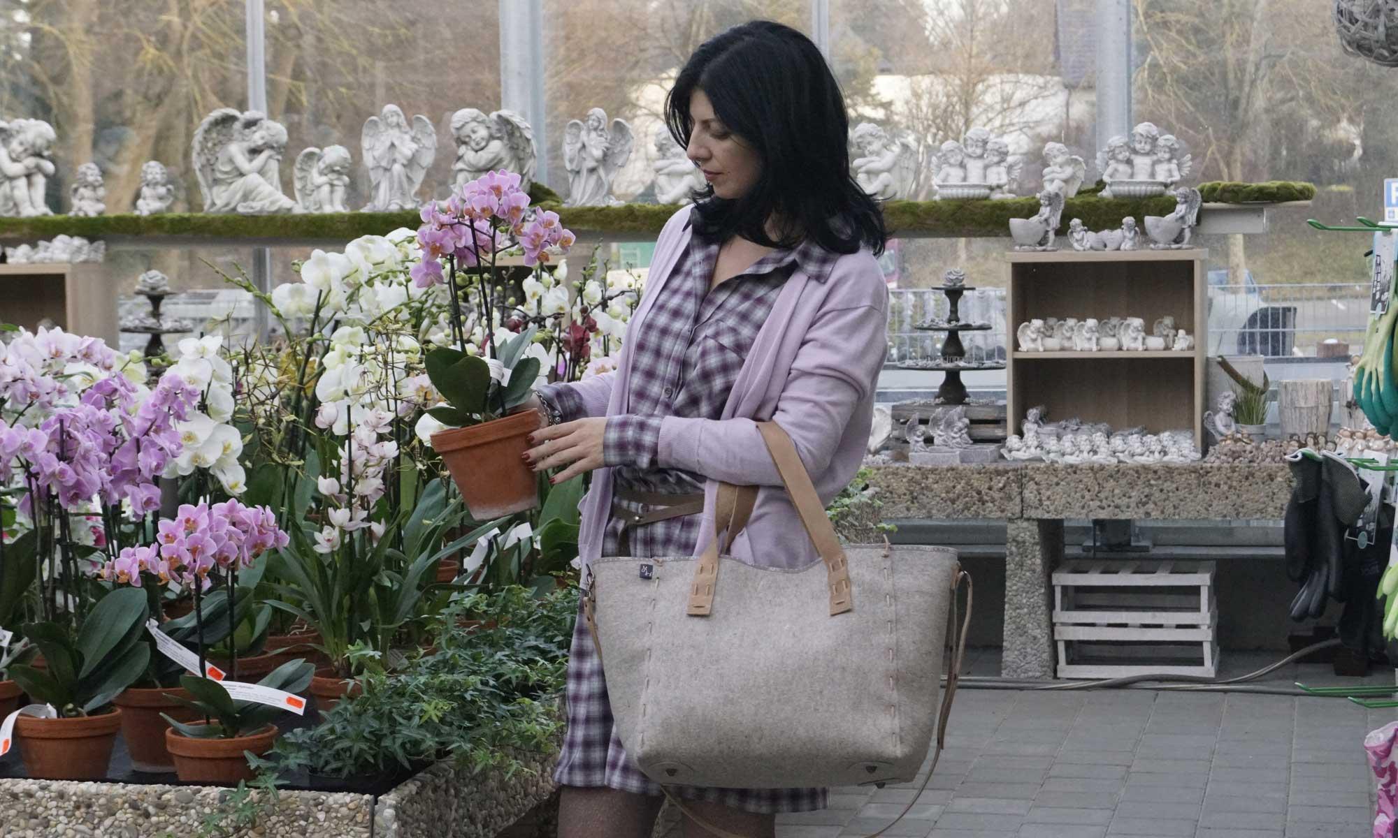 Designer Taschen aus Filz