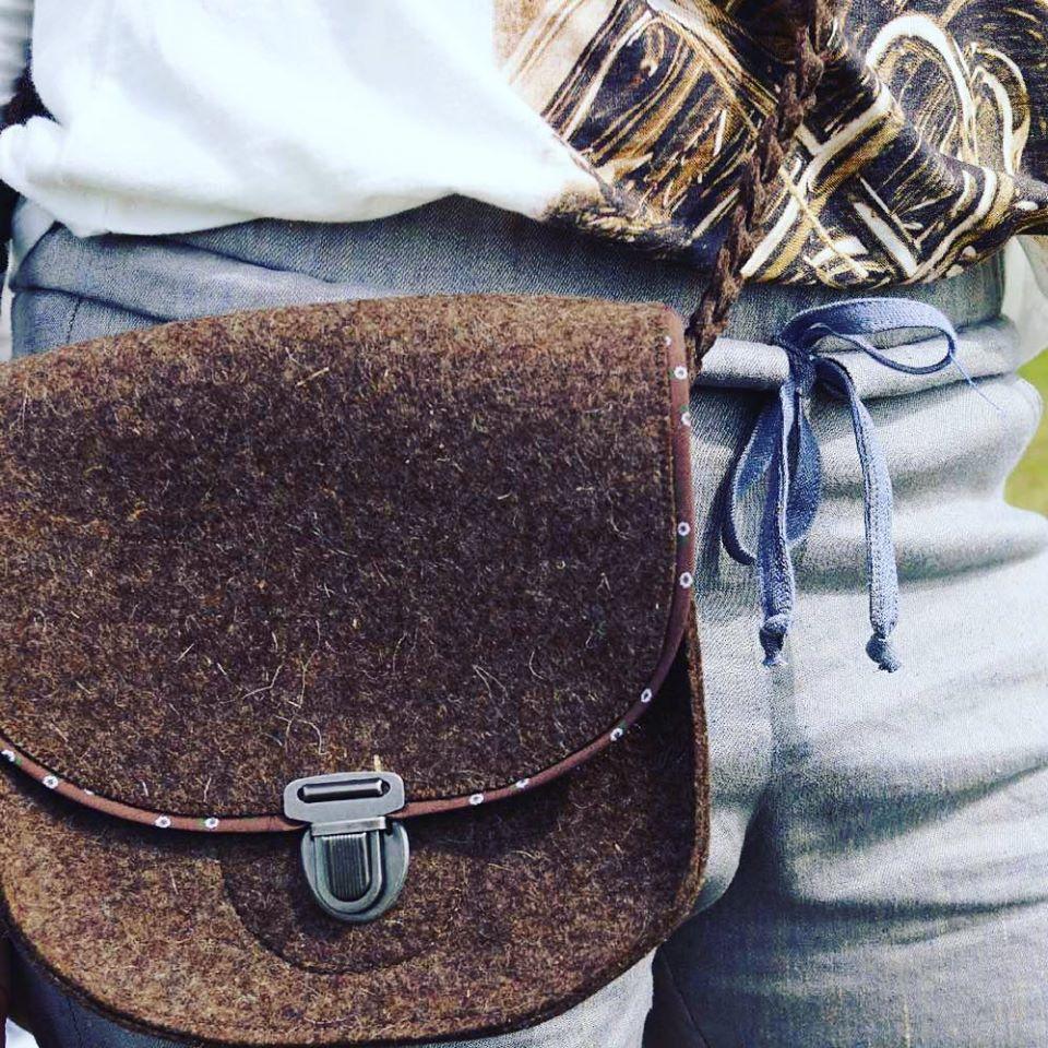 Damentasche Toni in rehbraun, einfach schön und super kombinierbar