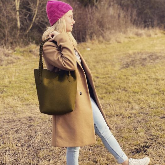 Shopper Betty in Oliv