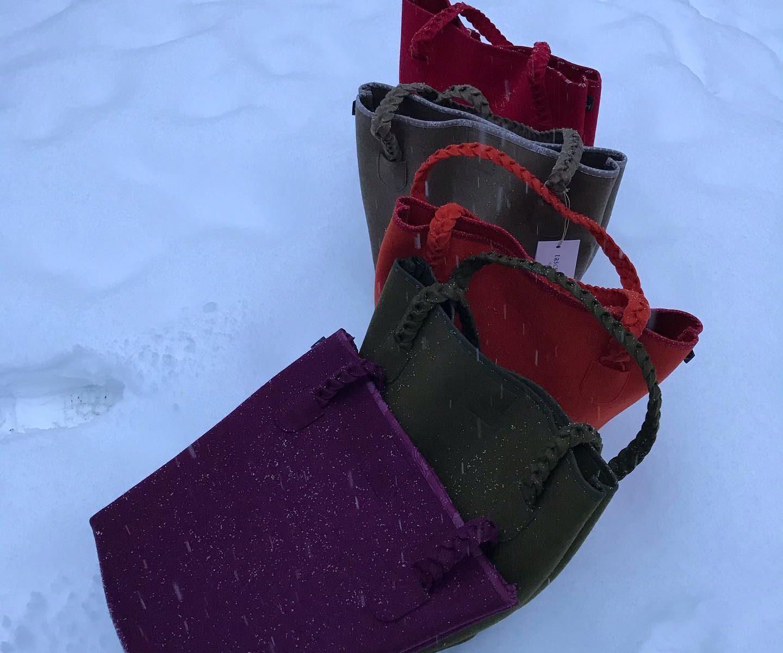 Tasche Betty im Schnee